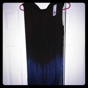 Black Ombre mini dress